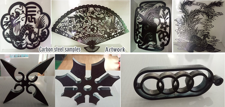Laser-Cut carbon steel parts